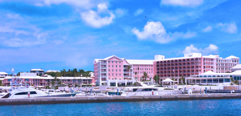 Hamilton Princess Resort in Bermuda