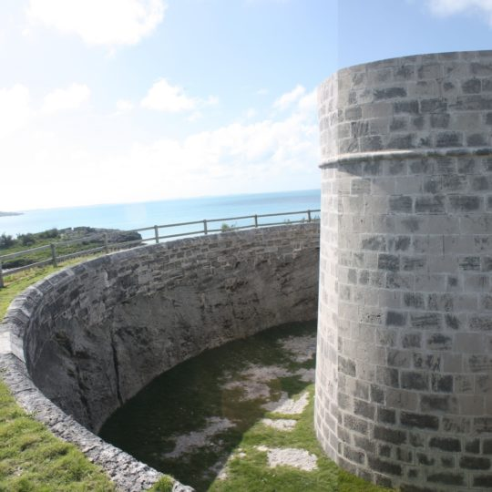 The Martello Tower at Ferry Reach