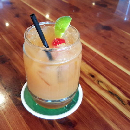 Bermuda Rum Swizzle National Drink
